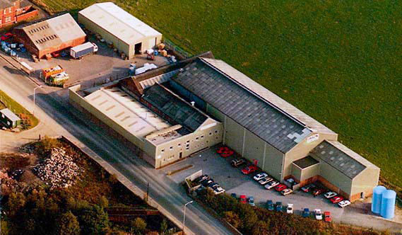 Our manufacturing plant in Bury Lancashire